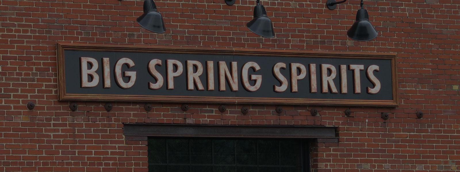 Big Spring Spritis